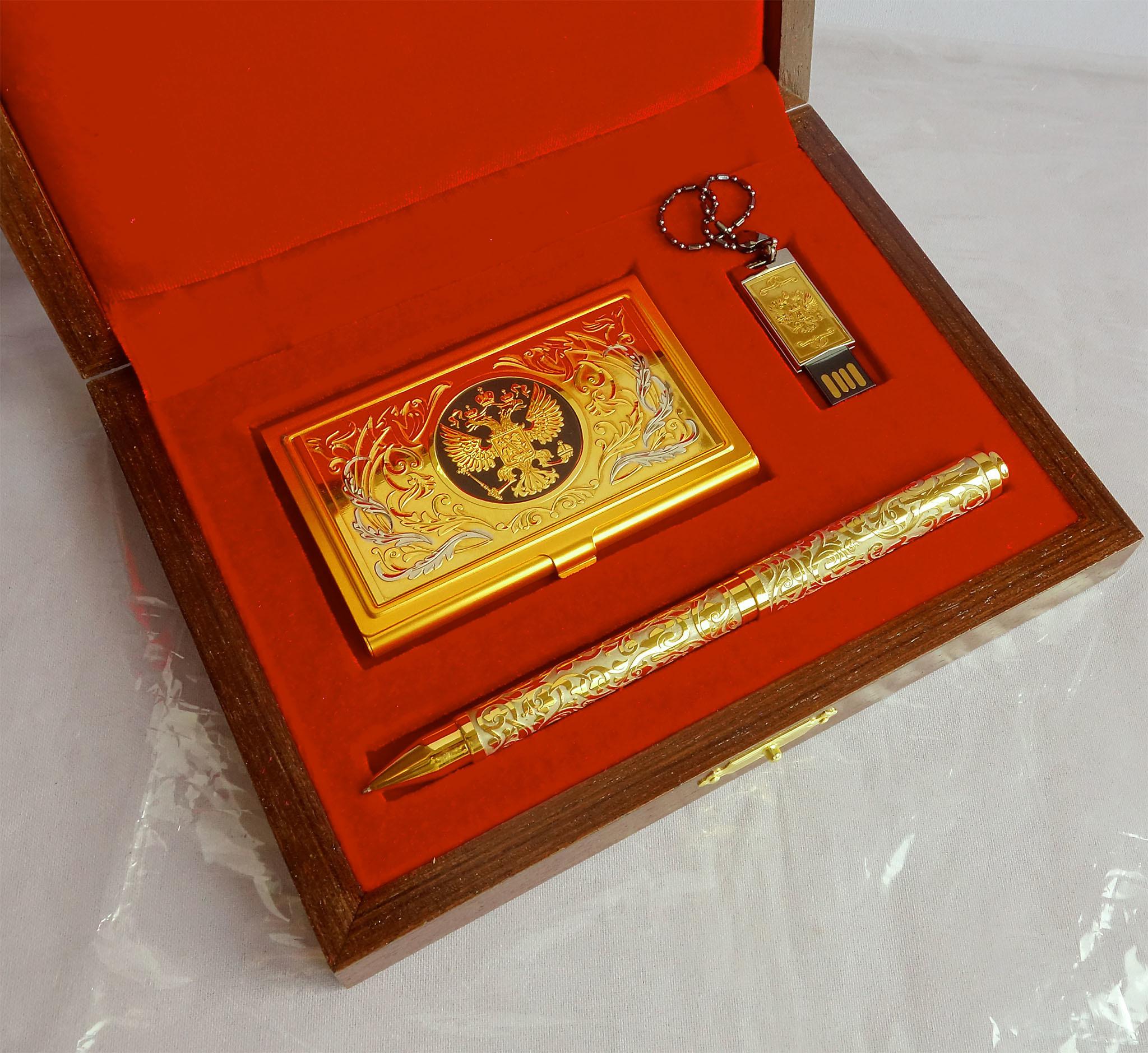 Подарок золотые ручки 42