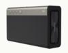 Creative Sound Blaster Roar 2Акустика<br>Портативная акустика Creative Sound Blaster Roar 2 black (черный) купить с доставкой<br>Creative Sound Blaster Roar 2 — мощный портативный беспроводной Bluetooth-динамик. Он на 20% компактнее легендарной системы Creative Sound Blaster Roar, но при этом не уступает ей в качестве звучания.<br><br>Маленький, но мощный<br>Принято считать, что для хорошего воспроизведения басов устройство должно быть большого размера. Это справедливо, когда речь идёт о модели Sound Blaster Roar — чуде акустической инженерии. При разработке Sound Blaster Roar 2 инженерам удалось вместить все компоненты, отличающие за мощный объёмный звук, в компактный корпус: новая модель на 20% меньше предыдущей.<br>Как и в большем собрате, в колонке Creative Sound Blaster Roar 2 установлены 5 высококачественных динамиков и 2 усилителя — это в два раза больше, чем у большинства переносных колонок. Один усилитель выделен для низких и средних частот, а другой полностью отвечает за высокие. В результате звучание безукоризненно чистое и сбалансированное.<br>Включите Roar и усильте басы<br>Функция Roar незаменима для вечеринок и больших пространств: одним нажатием на кнопку мощность звука увеличивается в несколько раз. Эта функция повышает общий уровень громкости, используя встроенный в динамик процессор цифровой обработки сигнала.<br>В Creative Sound Blaster Roar 2 также используется функция TeraBass — интеллектуальное усиление басов при низком уровне громкости. Она компенсирует потери воспринимаемого диапазона низких частот, так что вы можете слышать всю мощь любимой музыки, даже если вынуждены слушать её очень тихо.<br><br>Просто подключить<br>Sound Blaster Roar 2 поддерживает NFC, так что подключить его ко многим устройства можно с помощью одного прикосновения. Если же в смартфоне нет NFC, вы всегда можете использовать беспроводное подключение через Bluetooth. Функция Creative Multipoint позволяет одновременно подключить к динамику два устройства и легко переключат