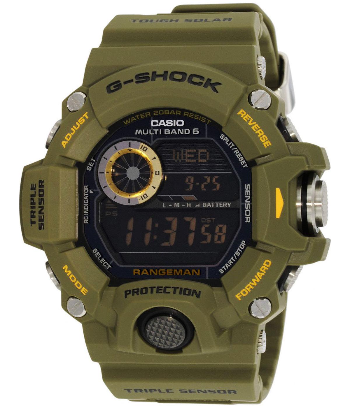 Casio G-SHOCK GW-9400-3E / GW-9400-3ER - оригинальные наручные часы от eBay RU