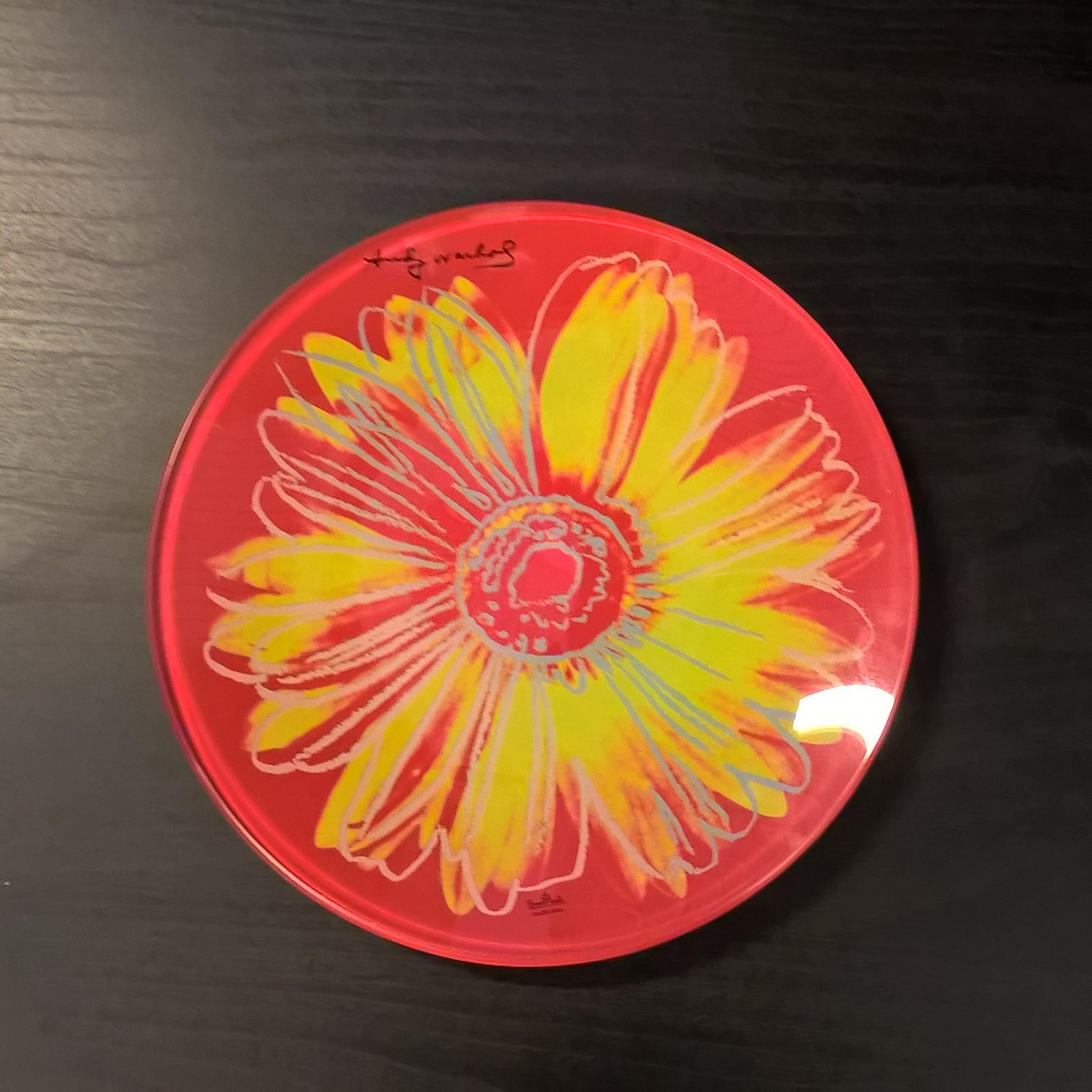 Серия Andy Warhol Хрусталь и стекло Rosenthal<br>Серия Andy Warhol Daisies Pink Тарелка<br>Размер: 20 см<br>Материал: стекло<br>Производитель: Rosenthal, Германия<br>