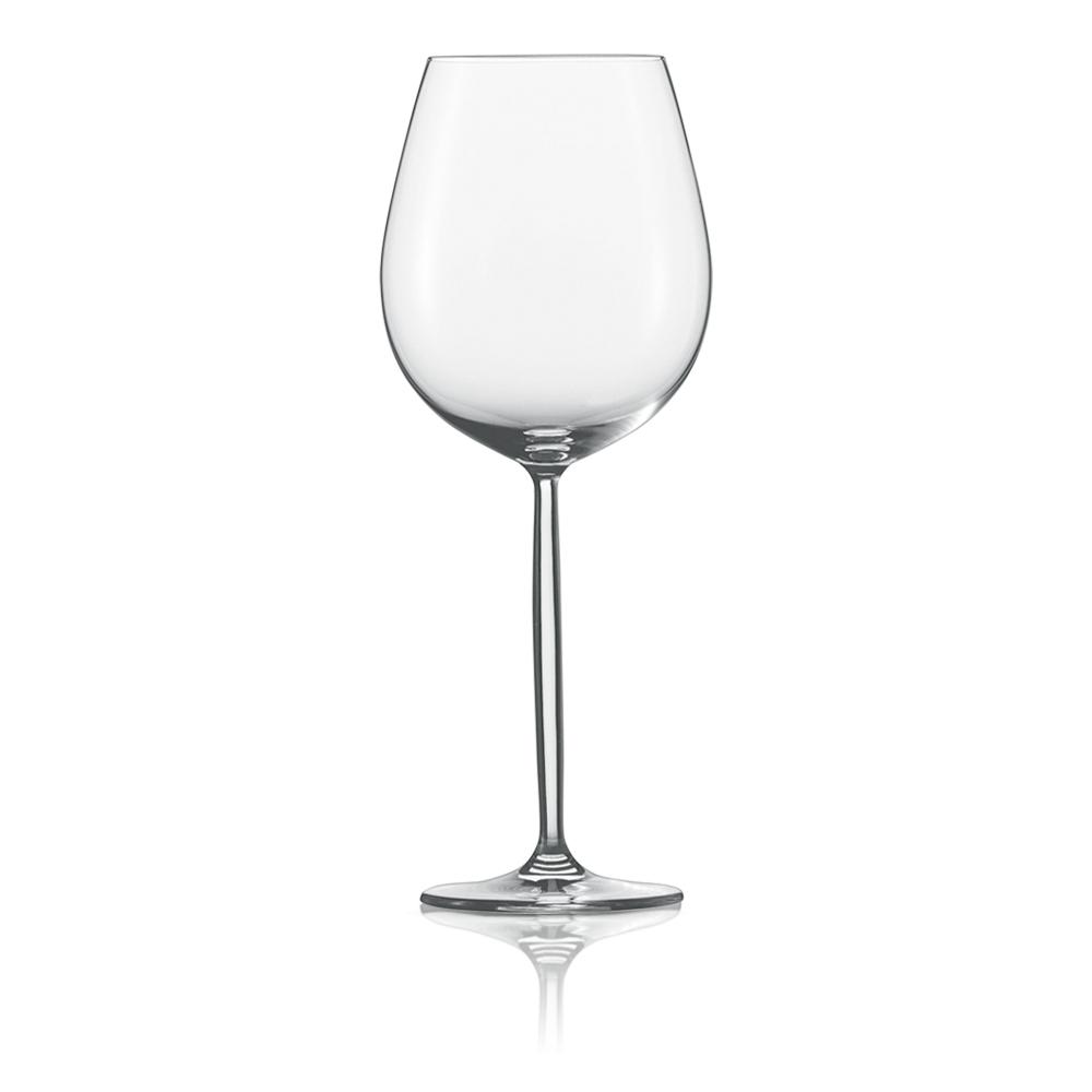 Набор из 6 бокалов для красного вина 460 мл SCHOTT ZWIESEL Diva арт. 104 095-6Бокалы и стаканы<br>Набор из 6 бокалов для красного вина 460 мл SCHOTT ZWIESEL Diva арт. 104 095-7<br><br>вид упаковки: подарочнаявысота (см): 22.9диаметр (см): 9.1материал: хрустальное стеклоназначение: для красного винаобъем (мл): 460предметов в наборе (штук): 6страна: Германия<br>Элегантные рюмки и бокалы на высоких тонких ножках серии Diva — воплощение классических форм и безупречного стиля. Эта красивая и практичная коллекция создана для разнообразных вин: белых и красных, молодых и зрелых, легких и крепких.<br>Изящный дизайн и удобные формы рюмок, бокалов и фужеров серии Diva позволит вам приятно насладиться любимым напитком, смакуя его маленькими глотками.<br>Кажущаяся хрупкость этих изделий обманчива: тритановое стекло, из которого они изготовлены, обладает невероятной прочностью, что позволяет использовать их ежедневно и мыть в посудомоечной машине, не опасаясь, что они разобьются или потеряют прозрачность и первозданный блеск.<br>