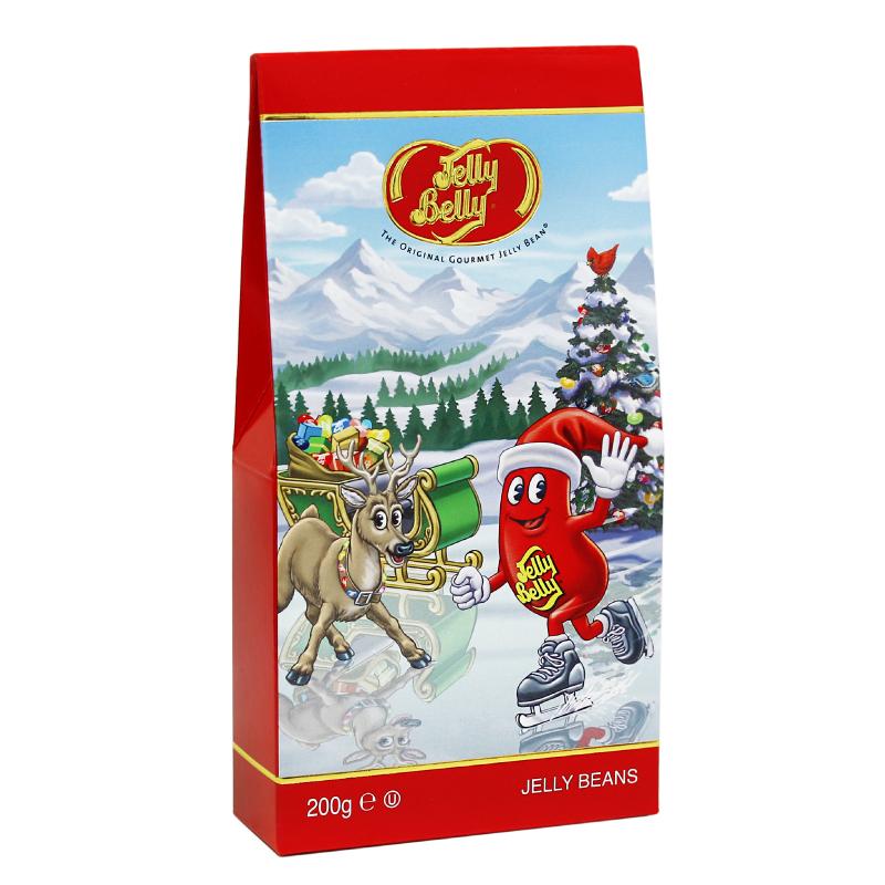 Конфеты Jelly Belly 20 вкусов Премиум 200 гДетям<br>Любимые жевательные конфеты «Jelly Belly» - вкусный подарок близким и друзьям.Создать праздничное настроение так просто с неповторимыми конфетками Jelly Belly.20 оригинальных драже создадут игриво-праздничное настроение и зарядят позитивом и оптимизмом в любой ситуации.<br>Сочный арбуз, спелая смородина, солнечный мандарин, нежный персик и море других уже знакомых и любимых вкусов приятно порадуют каждого сладкоежку.<br>Делиться Jelly Belly в новой удобной и красивой упаковке и дарить праздник так приятно!<br>Вес: 200 гр.<br>
