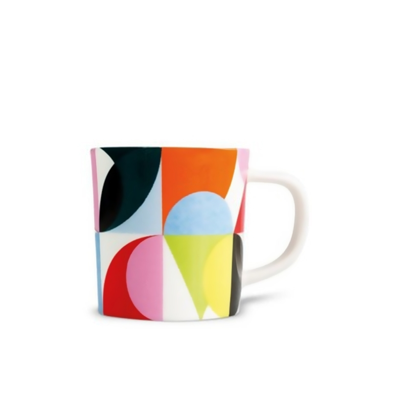 Чашка для эспрессо с блюдцем Remember Solena em04Кружки и чашки<br>Набор из чашки для эспрессо с блюдцем в подарочной коробке. Элегантная форма и яркие цвета добавят хорошего настроения всем любителям кофе. Отличный подарок для себя или знакомых. Материал - фарфор, объём 75 мл.<br>