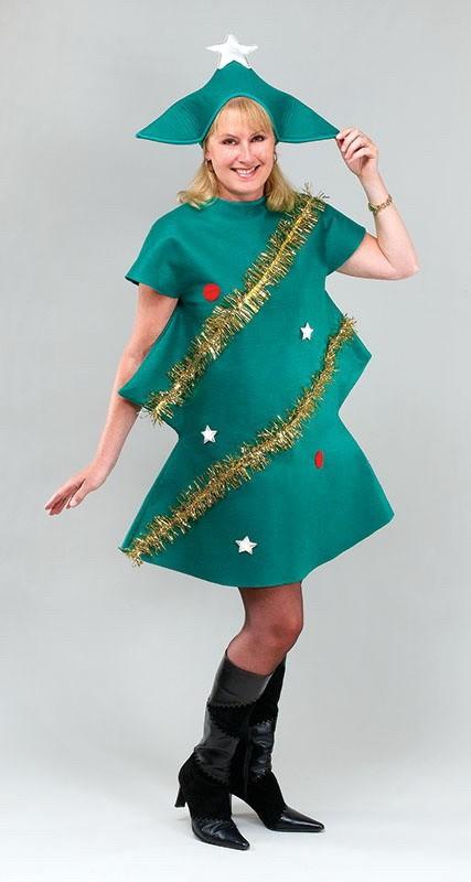 Как сделать новогодний костюм для взрослого своими руками