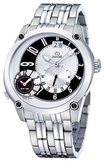 Jaguar J629_2 - мужские наручные часыJaguar<br><br><br>Бренд: Jaguar<br>Модель: Jaguar J629_2<br>Артикул: J629_2<br>Вариант артикула: None<br>Коллекция: None<br>Подколлекция: None<br>Страна: Швейцария<br>Пол: мужские<br>Тип механизма: кварцевые<br>Механизм: None<br>Количество камней: None<br>Автоподзавод: None<br>Источник энергии: от батарейки<br>Срок службы элемента питания: None<br>Дисплей: стрелки<br>Цифры: арабские<br>Водозащита: WR 50<br>Противоударные: None<br>Материал корпуса: нерж. сталь<br>Материал браслета: не указан<br>Материал безеля: None<br>Стекло: минеральное<br>Антибликовое покрытие: None<br>Цвет корпуса: None<br>Цвет браслета: None<br>Цвет циферблата: None<br>Цвет безеля: None<br>Размеры: None<br>Диаметр: None<br>Диаметр корпуса: None<br>Толщина: None<br>Ширина ремешка: None<br>Вес: None<br>Спорт-функции: None<br>Подсветка: стрелок<br>Вставка: None<br>Отображение даты: число<br>Хронограф: None<br>Таймер: None<br>Термометр: None<br>Хронометр: None<br>GPS: None<br>Радиосинхронизация: None<br>Барометр: None<br>Скелетон: None<br>Дополнительная информация: None<br>Дополнительные функции: второй часовой пояс