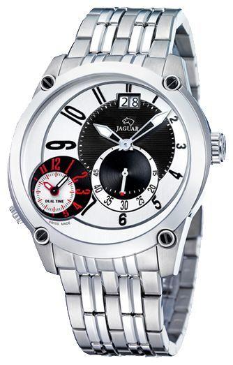 Jaguar J629_1 - мужские наручные часыJaguar<br><br><br>Бренд: Jaguar<br>Модель: Jaguar J629_1<br>Артикул: J629_1<br>Вариант артикула: None<br>Коллекция: None<br>Подколлекция: None<br>Страна: Швейцария<br>Пол: мужские<br>Тип механизма: кварцевые<br>Механизм: None<br>Количество камней: None<br>Автоподзавод: None<br>Источник энергии: от батарейки<br>Срок службы элемента питания: None<br>Дисплей: стрелки<br>Цифры: арабские<br>Водозащита: WR 50<br>Противоударные: None<br>Материал корпуса: нерж. сталь<br>Материал браслета: не указан<br>Материал безеля: None<br>Стекло: минеральное<br>Антибликовое покрытие: None<br>Цвет корпуса: None<br>Цвет браслета: None<br>Цвет циферблата: None<br>Цвет безеля: None<br>Размеры: None<br>Диаметр: None<br>Диаметр корпуса: None<br>Толщина: None<br>Ширина ремешка: None<br>Вес: None<br>Спорт-функции: None<br>Подсветка: стрелок<br>Вставка: None<br>Отображение даты: число<br>Хронограф: None<br>Таймер: None<br>Термометр: None<br>Хронометр: None<br>GPS: None<br>Радиосинхронизация: None<br>Барометр: None<br>Скелетон: None<br>Дополнительная информация: None<br>Дополнительные функции: второй часовой пояс