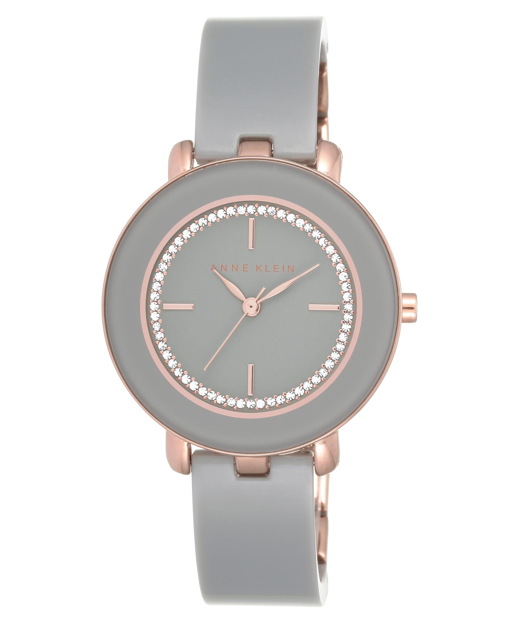 Anne Klein 1972RGGY - женские наручные часы из коллекции Big BangAnne Klein<br><br><br>Бренд: Anne Klein<br>Модель: Anne Klein 1972 RGGY<br>Артикул: 1972RGGY<br>Вариант артикула: None<br>Коллекция: Big Bang<br>Подколлекция: None<br>Страна: США<br>Пол: женские<br>Тип механизма: кварцевые<br>Механизм: None<br>Количество камней: None<br>Автоподзавод: None<br>Источник энергии: от батарейки<br>Срок службы элемента питания: None<br>Дисплей: стрелки<br>Цифры: отсутствуют<br>Водозащита: WR 30<br>Противоударные: None<br>Материал корпуса: не указан, частичное покрытие корпуса<br>Материал браслета: пластик<br>Материал безеля: None<br>Стекло: минеральное<br>Антибликовое покрытие: None<br>Цвет корпуса: None<br>Цвет браслета: None<br>Цвет циферблата: None<br>Цвет безеля: None<br>Размеры: 34 мм<br>Диаметр: None<br>Диаметр корпуса: None<br>Толщина: None<br>Ширина ремешка: None<br>Вес: None<br>Спорт-функции: None<br>Подсветка: None<br>Вставка: кристаллы Swarovski<br>Отображение даты: None<br>Хронограф: None<br>Таймер: None<br>Термометр: None<br>Хронометр: None<br>GPS: None<br>Радиосинхронизация: None<br>Барометр: None<br>Скелетон: None<br>Дополнительная информация: пластиковый безель<br>Дополнительные функции: None