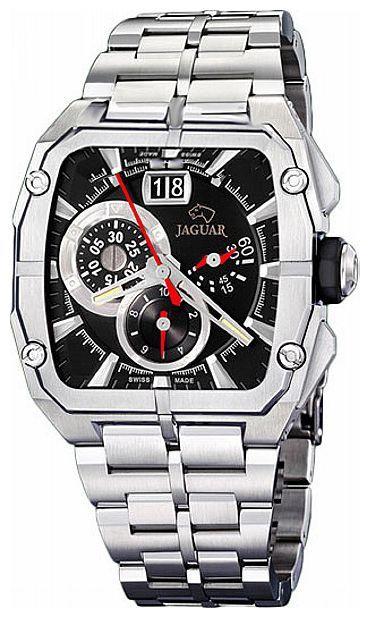 Jaguar J639_2 - мужские наручные часыJaguar<br><br><br>Бренд: Jaguar<br>Модель: Jaguar J639_2<br>Артикул: J639_2<br>Вариант артикула: None<br>Коллекция: None<br>Подколлекция: None<br>Страна: Швейцария<br>Пол: мужские<br>Тип механизма: кварцевые<br>Механизм: None<br>Количество камней: None<br>Автоподзавод: None<br>Источник энергии: от батарейки<br>Срок службы элемента питания: None<br>Дисплей: стрелки<br>Цифры: отсутствуют<br>Водозащита: WR 50<br>Противоударные: None<br>Материал корпуса: нерж. сталь<br>Материал браслета: не указан<br>Материал безеля: None<br>Стекло: минеральное<br>Антибликовое покрытие: None<br>Цвет корпуса: None<br>Цвет браслета: None<br>Цвет циферблата: None<br>Цвет безеля: None<br>Размеры: None<br>Диаметр: None<br>Диаметр корпуса: None<br>Толщина: None<br>Ширина ремешка: None<br>Вес: None<br>Спорт-функции: секундомер<br>Подсветка: стрелок<br>Вставка: None<br>Отображение даты: число<br>Хронограф: есть<br>Таймер: None<br>Термометр: None<br>Хронометр: None<br>GPS: None<br>Радиосинхронизация: None<br>Барометр: None<br>Скелетон: None<br>Дополнительная информация: None<br>Дополнительные функции: None