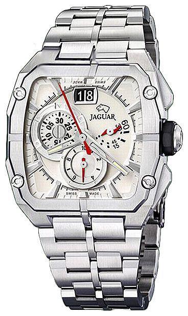 Jaguar J639_1 - мужские наручные часыJaguar<br><br><br>Бренд: Jaguar<br>Модель: Jaguar J639_1<br>Артикул: J639_1<br>Вариант артикула: None<br>Коллекция: None<br>Подколлекция: None<br>Страна: Швейцария<br>Пол: мужские<br>Тип механизма: кварцевые<br>Механизм: None<br>Количество камней: None<br>Автоподзавод: None<br>Источник энергии: от батарейки<br>Срок службы элемента питания: None<br>Дисплей: стрелки<br>Цифры: отсутствуют<br>Водозащита: WR 50<br>Противоударные: None<br>Материал корпуса: нерж. сталь<br>Материал браслета: не указан<br>Материал безеля: None<br>Стекло: минеральное<br>Антибликовое покрытие: None<br>Цвет корпуса: None<br>Цвет браслета: None<br>Цвет циферблата: None<br>Цвет безеля: None<br>Размеры: None<br>Диаметр: None<br>Диаметр корпуса: None<br>Толщина: None<br>Ширина ремешка: None<br>Вес: None<br>Спорт-функции: секундомер<br>Подсветка: стрелок<br>Вставка: None<br>Отображение даты: число<br>Хронограф: есть<br>Таймер: None<br>Термометр: None<br>Хронометр: None<br>GPS: None<br>Радиосинхронизация: None<br>Барометр: None<br>Скелетон: None<br>Дополнительная информация: None<br>Дополнительные функции: None