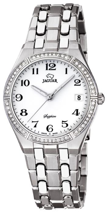 Jaguar J692_1 - женские наручные часыJaguar<br><br><br>Бренд: Jaguar<br>Модель: Jaguar J692_1<br>Артикул: J692_1<br>Вариант артикула: None<br>Коллекция: None<br>Подколлекция: None<br>Страна: Швейцария<br>Пол: женские<br>Тип механизма: кварцевые<br>Механизм: Ronda<br>Количество камней: None<br>Автоподзавод: None<br>Источник энергии: от батарейки<br>Срок службы элемента питания: None<br>Дисплей: стрелки<br>Цифры: арабские<br>Водозащита: WR 100<br>Противоударные: None<br>Материал корпуса: нерж. сталь<br>Материал браслета: нерж. сталь<br>Материал безеля: None<br>Стекло: сапфировое<br>Антибликовое покрытие: None<br>Цвет корпуса: None<br>Цвет браслета: None<br>Цвет циферблата: None<br>Цвет безеля: None<br>Размеры: 32x8 мм<br>Диаметр: None<br>Диаметр корпуса: None<br>Толщина: None<br>Ширина ремешка: None<br>Вес: None<br>Спорт-функции: None<br>Подсветка: стрелок<br>Вставка: None<br>Отображение даты: число<br>Хронограф: None<br>Таймер: None<br>Термометр: None<br>Хронометр: None<br>GPS: None<br>Радиосинхронизация: None<br>Барометр: None<br>Скелетон: None<br>Дополнительная информация: None<br>Дополнительные функции: None
