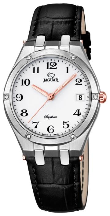 Jaguar J693_1 - женские наручные часыJaguar<br><br><br>Бренд: Jaguar<br>Модель: Jaguar J693_1<br>Артикул: J693_1<br>Вариант артикула: None<br>Коллекция: None<br>Подколлекция: None<br>Страна: Швейцария<br>Пол: женские<br>Тип механизма: кварцевые<br>Механизм: Ronda<br>Количество камней: None<br>Автоподзавод: None<br>Источник энергии: от батарейки<br>Срок службы элемента питания: None<br>Дисплей: стрелки<br>Цифры: арабские<br>Водозащита: WR 100<br>Противоударные: None<br>Материал корпуса: нерж. сталь<br>Материал браслета: кожа<br>Материал безеля: None<br>Стекло: сапфировое<br>Антибликовое покрытие: None<br>Цвет корпуса: None<br>Цвет браслета: None<br>Цвет циферблата: None<br>Цвет безеля: None<br>Размеры: 32x8 мм<br>Диаметр: None<br>Диаметр корпуса: None<br>Толщина: None<br>Ширина ремешка: None<br>Вес: None<br>Спорт-функции: None<br>Подсветка: стрелок<br>Вставка: None<br>Отображение даты: число<br>Хронограф: None<br>Таймер: None<br>Термометр: None<br>Хронометр: None<br>GPS: None<br>Радиосинхронизация: None<br>Барометр: None<br>Скелетон: None<br>Дополнительная информация: None<br>Дополнительные функции: None
