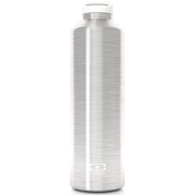 Термос MB Steel серебристый 4011 01 000Термосы MB Steel<br>Термос MB Steel серебристый<br><br>Бутылка с термоизоляцией для ежедневных и экстраординарных приключений! Она станет надежным компаньоном для бодрящего кофе, горячего чая или полезного смузи. Двойные стенки сохраняют напиток теплым (или холодным) до 12 часов, при этом внешние стенки не нагреваются, бутылку приятно держать в руках. <br>Объем - 500 мл. Сделана из нержавеющей стали. В комплекте заварник для чая, который крепится к крышке и помещается прямо в бутылку. Бутылка герметична, не прольется ни капли. Изготовлена из безопасных материалов без примеси вредного бисфенола А (BPA free).<br>Официальный продавец<br>
