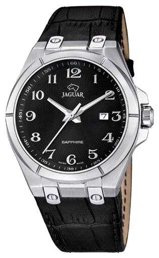 Jaguar J666_7 - мужские наручные часыJaguar<br><br><br>Бренд: Jaguar<br>Модель: Jaguar J666_7<br>Артикул: J666_7<br>Вариант артикула: None<br>Коллекция: None<br>Подколлекция: None<br>Страна: Швейцария<br>Пол: мужские<br>Тип механизма: кварцевые<br>Механизм: None<br>Количество камней: None<br>Автоподзавод: None<br>Источник энергии: от батарейки<br>Срок службы элемента питания: None<br>Дисплей: стрелки<br>Цифры: арабские<br>Водозащита: WR 100<br>Противоударные: None<br>Материал корпуса: нерж. сталь<br>Материал браслета: кожа<br>Материал безеля: None<br>Стекло: сапфировое<br>Антибликовое покрытие: None<br>Цвет корпуса: None<br>Цвет браслета: None<br>Цвет циферблата: None<br>Цвет безеля: None<br>Размеры: 44 мм<br>Диаметр: None<br>Диаметр корпуса: None<br>Толщина: None<br>Ширина ремешка: None<br>Вес: None<br>Спорт-функции: None<br>Подсветка: стрелок<br>Вставка: None<br>Отображение даты: число<br>Хронограф: None<br>Таймер: None<br>Термометр: None<br>Хронометр: None<br>GPS: None<br>Радиосинхронизация: None<br>Барометр: None<br>Скелетон: None<br>Дополнительная информация: None<br>Дополнительные функции: None