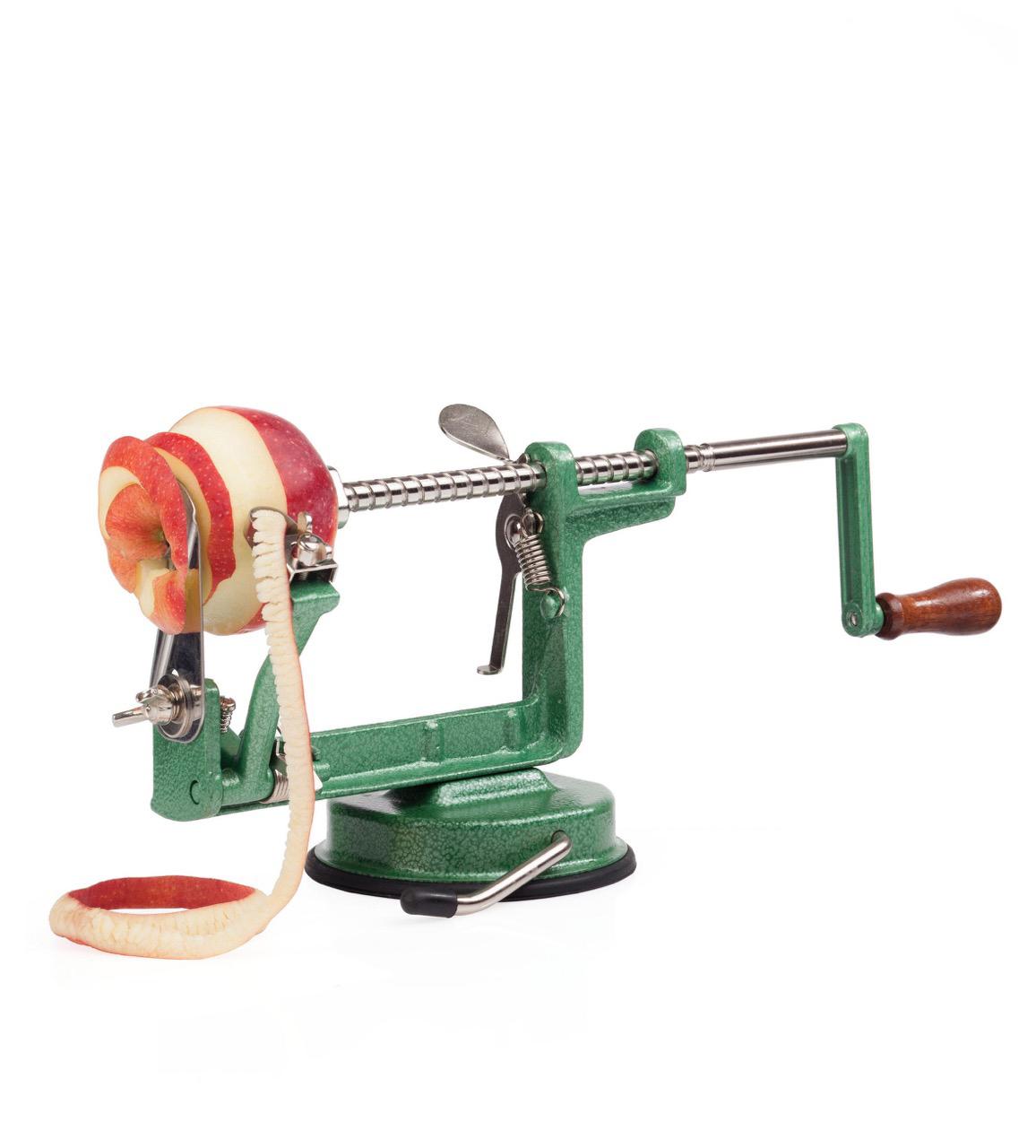 Приспособление для резки яблок на сушку своими руками 21