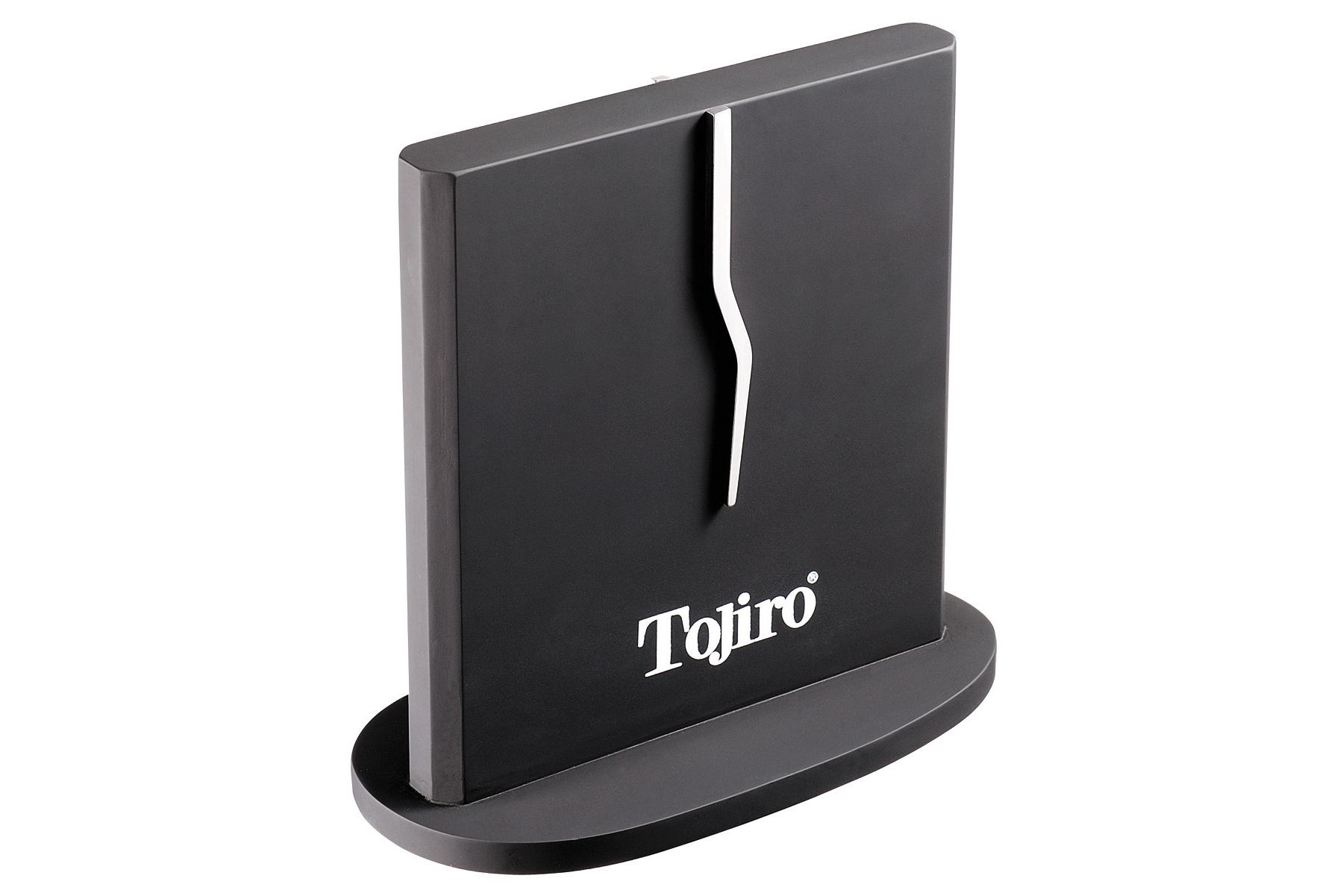 Магнитный стенд для стальных ножей Tojiro F-360Магнитные держатели для ножей<br>Двусторонняя магнитная подставка, вмещает до восьми ножей (по четыре с каждой стороны).<br>