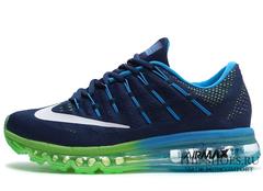 Кроссовки Мужские Nike Air Max 2016 Dark Blue Green