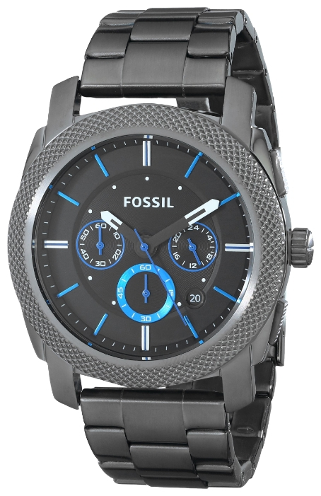 Fossil FS4931 - мужские наручные часыFossil<br><br><br>Бренд: Fossil<br>Модель: Fossil FS4931<br>Артикул: FS4931<br>Вариант артикула: None<br>Коллекция: None<br>Подколлекция: None<br>Страна: США<br>Пол: мужские<br>Тип механизма: кварцевые<br>Механизм: None<br>Количество камней: None<br>Автоподзавод: None<br>Источник энергии: от батарейки<br>Срок службы элемента питания: None<br>Дисплей: стрелки<br>Цифры: отсутствуют<br>Водозащита: WR 50<br>Противоударные: None<br>Материал корпуса: нерж. сталь, PVD покрытие (полное)<br>Материал браслета: нерж. сталь, PVD покрытие (полное)<br>Материал безеля: None<br>Стекло: минеральное<br>Антибликовое покрытие: None<br>Цвет корпуса: None<br>Цвет браслета: None<br>Цвет циферблата: None<br>Цвет безеля: None<br>Размеры: 45x13 мм<br>Диаметр: None<br>Диаметр корпуса: None<br>Толщина: None<br>Ширина ремешка: 24 см<br>Вес: None<br>Спорт-функции: секундомер<br>Подсветка: стрелок<br>Вставка: None<br>Отображение даты: число<br>Хронограф: есть<br>Таймер: None<br>Термометр: None<br>Хронометр: None<br>GPS: None<br>Радиосинхронизация: None<br>Барометр: None<br>Скелетон: None<br>Дополнительная информация: None<br>Дополнительные функции: None