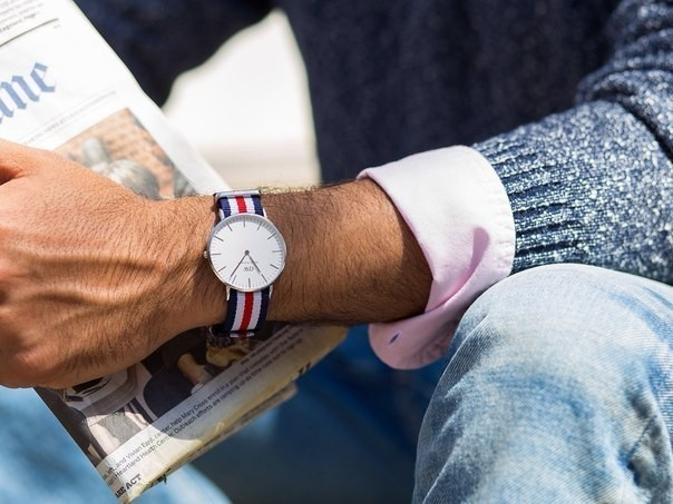 Часы daniel wellington canterbury