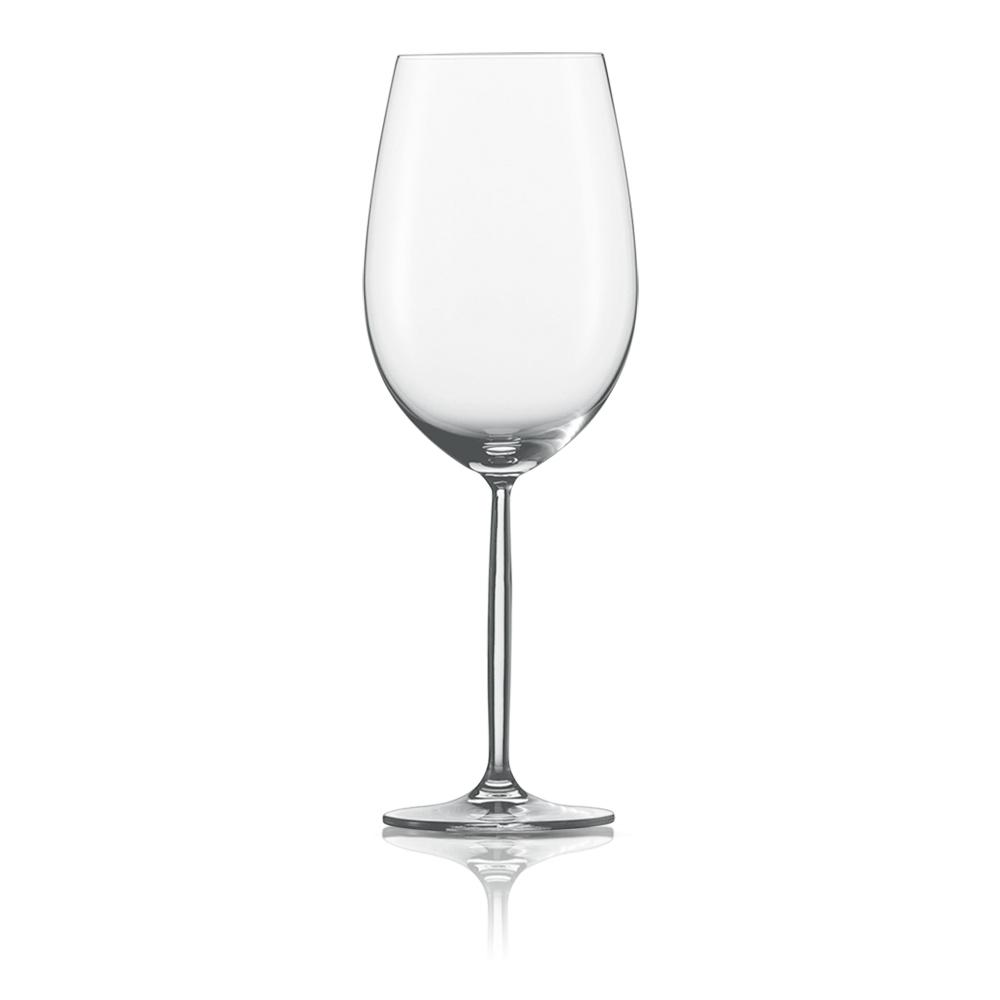 Набор из 6 бокалов для красного вина 770 мл SCHOTT ZWIESEL Diva арт. 104 102-6Бокалы и стаканы<br>Набор из 6 бокалов для красного вина 770 мл SCHOTT ZWIESEL Diva арт. 104 102-7<br><br>вид упаковки: подарочнаявысота (см): 27.5диаметр (см): 10.0материал: хрустальное стеклоназначение: для красного винаобъем (мл): 768предметов в наборе (штук): 6страна: Германия<br>Элегантные рюмки и бокалы на высоких тонких ножках серии Diva — воплощение классических форм и безупречного стиля. Эта красивая и практичная коллекция создана для разнообразных вин: белых и красных, молодых и зрелых, легких и крепких.<br>Изящный дизайн и удобные формы рюмок, бокалов и фужеров серии Diva позволит вам приятно насладиться любимым напитком, смакуя его маленькими глотками.<br>Кажущаяся хрупкость этих изделий обманчива: тритановое стекло, из которого они изготовлены, обладает невероятной прочностью, что позволяет использовать их ежедневно и мыть в посудомоечной машине, не опасаясь, что они разобьются или потеряют прозрачность и первозданный блеск.<br>