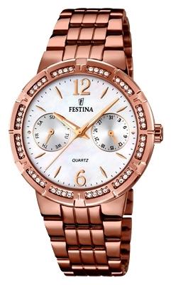 Festina F16796.3 - женские наручные часыFestina<br><br><br>Бренд: Festina<br>Модель: Festina F16796/3<br>Артикул: F16796.3<br>Вариант артикула: None<br>Коллекция: None<br>Подколлекция: None<br>Страна: Испания<br>Пол: женские<br>Тип механизма: кварцевые<br>Механизм: M6P25<br>Количество камней: None<br>Автоподзавод: None<br>Источник энергии: от батарейки<br>Срок службы элемента питания: None<br>Дисплей: стрелки<br>Цифры: арабские<br>Водозащита: WR 50<br>Противоударные: None<br>Материал корпуса: нерж. сталь, PVD покрытие (полное)<br>Материал браслета: нерж. сталь, PVD покрытие (полное)<br>Материал безеля: None<br>Стекло: минеральное<br>Антибликовое покрытие: None<br>Цвет корпуса: None<br>Цвет браслета: None<br>Цвет циферблата: None<br>Цвет безеля: None<br>Размеры: None<br>Диаметр: None<br>Диаметр корпуса: 36<br>Толщина: None<br>Ширина ремешка: None<br>Вес: None<br>Спорт-функции: None<br>Подсветка: стрелок<br>Вставка: None<br>Отображение даты: число, день недели<br>Хронограф: None<br>Таймер: None<br>Термометр: None<br>Хронометр: None<br>GPS: None<br>Радиосинхронизация: None<br>Барометр: None<br>Скелетон: None<br>Дополнительная информация: None<br>Дополнительные функции: None