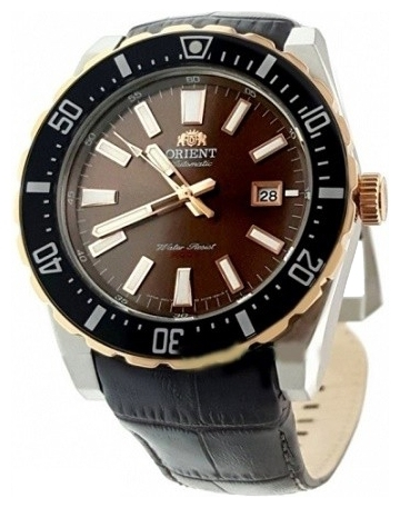 Orient AC09002T / FAC09002T0 - мужские наручные часыORIENT<br><br><br>Бренд: ORIENT<br>Модель: ORIENT AC09002T<br>Артикул: AC09002T<br>Вариант артикула: FAC09002T0<br>Коллекция: None<br>Подколлекция: None<br>Страна: Япония<br>Пол: мужские<br>Тип механизма: механические<br>Механизм: ORIENT F67<br>Количество камней: 22<br>Автоподзавод: есть<br>Источник энергии: пружинный механизм<br>Срок службы элемента питания: None<br>Дисплей: стрелки<br>Цифры: отсутствуют<br>Водозащита: WR 200<br>Противоударные: None<br>Материал корпуса: нерж. сталь, частичное покрытие корпуса<br>Материал браслета: кожа (не указан)<br>Материал безеля: None<br>Стекло: минеральное<br>Антибликовое покрытие: None<br>Цвет корпуса: None<br>Цвет браслета: None<br>Цвет циферблата: None<br>Цвет безеля: None<br>Размеры: 46 мм<br>Диаметр: None<br>Диаметр корпуса: None<br>Толщина: None<br>Ширина ремешка: None<br>Вес: None<br>Спорт-функции: None<br>Подсветка: стрелок<br>Вставка: None<br>Отображение даты: число<br>Хронограф: None<br>Таймер: None<br>Термометр: None<br>Хронометр: None<br>GPS: None<br>Радиосинхронизация: None<br>Барометр: None<br>Скелетон: None<br>Дополнительная информация: None<br>Дополнительные функции: None