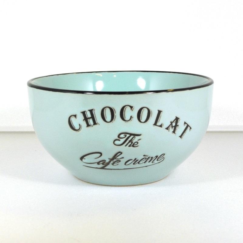 Салатник-чаша Brasserie синяя (Фарфор и керамика Antic Line)Фарфор и керамика Antic Line<br>Салатник-чаша Brasserie синяя   <br>Высота 7 см <br>Керамика, стилизовано под эмалированный металл   <br>Antic Line, Франция<br>