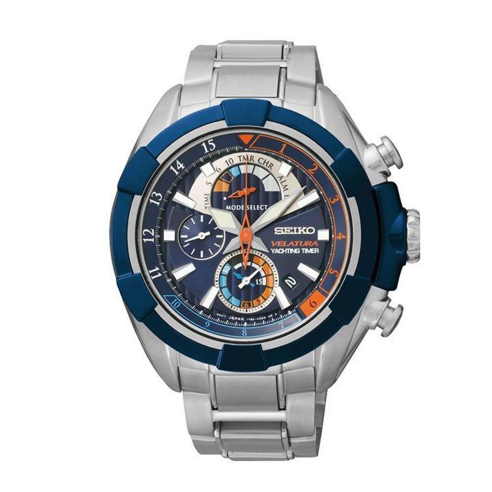 Наручные часы SeikoSeiko Velatura<br>Хронограф Яхтенный таймер Будильник<br>