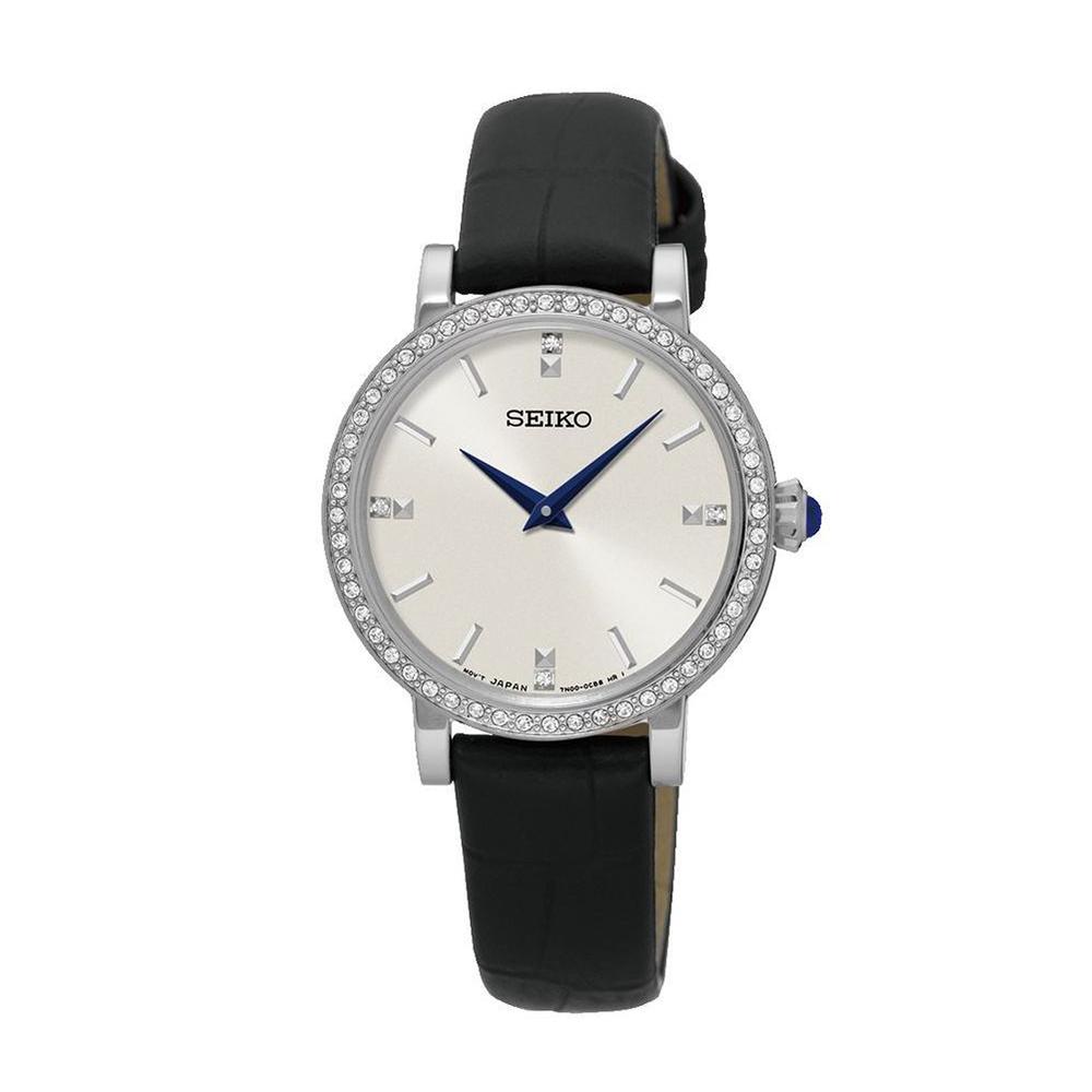 Наручные часы SeikoSeiko Conceptual Series Dress<br>56 кристаллов Swarovski<br>