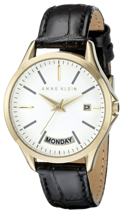Anne Klein 1976WTBK - женские наручные часы из коллекции DailyAnne Klein<br><br><br>Бренд: Anne Klein<br>Модель: Anne Klein 1976 WTBK<br>Артикул: 1976WTBK<br>Вариант артикула: None<br>Коллекция: Daily<br>Подколлекция: None<br>Страна: США<br>Пол: женские<br>Тип механизма: кварцевые<br>Механизм: None<br>Количество камней: None<br>Автоподзавод: None<br>Источник энергии: от батарейки<br>Срок службы элемента питания: None<br>Дисплей: стрелки<br>Цифры: отсутствуют<br>Водозащита: WR 30<br>Противоударные: None<br>Материал корпуса: не указан, полное покрытие корпуса<br>Материал браслета: кожа<br>Материал безеля: None<br>Стекло: минеральное<br>Антибликовое покрытие: None<br>Цвет корпуса: None<br>Цвет браслета: None<br>Цвет циферблата: None<br>Цвет безеля: None<br>Размеры: 36x10 мм<br>Диаметр: None<br>Диаметр корпуса: None<br>Толщина: None<br>Ширина ремешка: None<br>Вес: None<br>Спорт-функции: None<br>Подсветка: None<br>Вставка: None<br>Отображение даты: число, день недели<br>Хронограф: None<br>Таймер: None<br>Термометр: None<br>Хронометр: None<br>GPS: None<br>Радиосинхронизация: None<br>Барометр: None<br>Скелетон: None<br>Дополнительная информация: None<br>Дополнительные функции: None