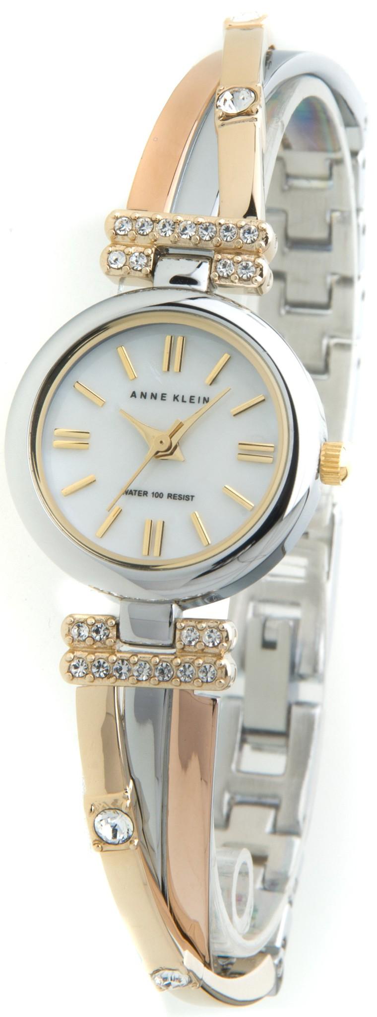 Anne Klein 9479MPTR - женские наручные часы из коллекции Fashion timeAnne Klein<br><br><br>Бренд: Anne Klein<br>Модель: Anne Klein 9479 MPTR<br>Артикул: 9479MPTR<br>Вариант артикула: None<br>Коллекция: Fashion time<br>Подколлекция: None<br>Страна: США<br>Пол: женские<br>Тип механизма: кварцевые<br>Механизм: None<br>Количество камней: None<br>Автоподзавод: None<br>Источник энергии: от батарейки<br>Срок службы элемента питания: None<br>Дисплей: стрелки<br>Цифры: отсутствуют<br>Водозащита: WR 30<br>Противоударные: None<br>Материал корпуса: латунь, PVD покрытие: позолота (частичное)<br>Материал браслета: латунь, PVD покрытие (частичное): позолота<br>Материал безеля: None<br>Стекло: минеральное<br>Антибликовое покрытие: None<br>Цвет корпуса: None<br>Цвет браслета: None<br>Цвет циферблата: None<br>Цвет безеля: None<br>Размеры: 22x7 мм<br>Диаметр: None<br>Диаметр корпуса: None<br>Толщина: None<br>Ширина ремешка: None<br>Вес: None<br>Спорт-функции: None<br>Подсветка: None<br>Вставка: None<br>Отображение даты: None<br>Хронограф: None<br>Таймер: None<br>Термометр: None<br>Хронометр: None<br>GPS: None<br>Радиосинхронизация: None<br>Барометр: None<br>Скелетон: None<br>Дополнительная информация: None<br>Дополнительные функции: None