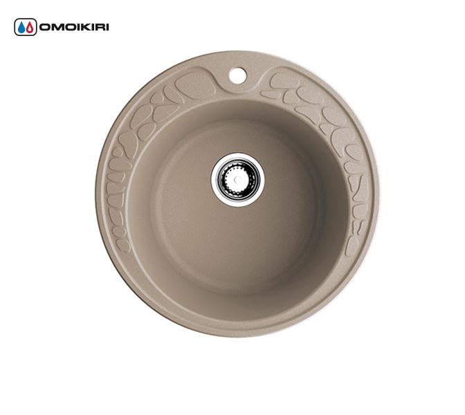Кухонная мойка из искусственного гранита (Artgranit) OMOIKIRI Tovada 51-SA (4993412)Кухонные мойки из искусственного гранита<br>Кухонная мойка из искусственного гранита (Artgranit) OMOIKIRI Tovada 51-SA (4993412)<br><br><br><br><br><br>Преимущества моек из Artgranit<br><br><br><br><br><br><br><br><br>Устойчива к царапинам<br>Устойчива к ударам<br>Не впитывает запахи<br>Не окрашивается от продуктов<br><br><br><br><br>«Artgranit» – создан на основе твердых частиц кварца и гранита, а также прочного связующего полимера.<br>Благодаря прочности и устойчивости кварца к различным природным и химическим воздействиям, данный материал стал незаменимым в различных отраслях, в том числе и в производстве моек.<br>Мойки из «Artgranit» устойчивы к любым механическим повреждениям: деформациям, сколам, царапинам.<br>В составе гранитных моек «Artgranit» пристутствуют специальные антибактериальные защитные комплексы с ионами серебра.<br>Мойки из материала «Artgranit» устойчивы к термическим воздействиям и достойно выдерживают температурные перепады.<br>За время использования Ваша мойка не потеряет свой первоначальный цвет благодаря применению инновационной технологии пигментации кварцевого песка, а не связующего компонента в специальных печах при температуре более 600 градусов.<br>Комплектация:<br><br>крепления;<br>донный клапан (автоматический донный клапан приобретается отдельно);<br>сифон.<br><br><br><br><br><br>Руководство по монтажу<br><br><br><br>Официальный сертифицированный продавец OMOIKIRI™<br>