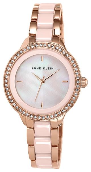 Anne Klein 1418RGLP - женские наручные часы из коллекции CeramicsAnne Klein<br><br><br>Бренд: Anne Klein<br>Модель: Anne Klein 1418 RGLP<br>Артикул: 1418RGLP<br>Вариант артикула: None<br>Коллекция: Ceramics<br>Подколлекция: None<br>Страна: США<br>Пол: женские<br>Тип механизма: кварцевые<br>Механизм: None<br>Количество камней: None<br>Автоподзавод: None<br>Источник энергии: от батарейки<br>Срок службы элемента питания: None<br>Дисплей: стрелки<br>Цифры: отсутствуют<br>Водозащита: WR 30<br>Противоударные: None<br>Материал корпуса: не указан, полное покрытие корпуса<br>Материал браслета: не указан, частичное дополнительное покрытие<br>Материал безеля: None<br>Стекло: минеральное<br>Антибликовое покрытие: None<br>Цвет корпуса: None<br>Цвет браслета: None<br>Цвет циферблата: None<br>Цвет безеля: None<br>Размеры: 34 мм<br>Диаметр: None<br>Диаметр корпуса: None<br>Толщина: None<br>Ширина ремешка: None<br>Вес: None<br>Спорт-функции: None<br>Подсветка: None<br>Вставка: кристаллы Swarovski<br>Отображение даты: None<br>Хронограф: None<br>Таймер: None<br>Термометр: None<br>Хронометр: None<br>GPS: None<br>Радиосинхронизация: None<br>Барометр: None<br>Скелетон: None<br>Дополнительная информация: браслет с керамическими вставками<br>Дополнительные функции: None