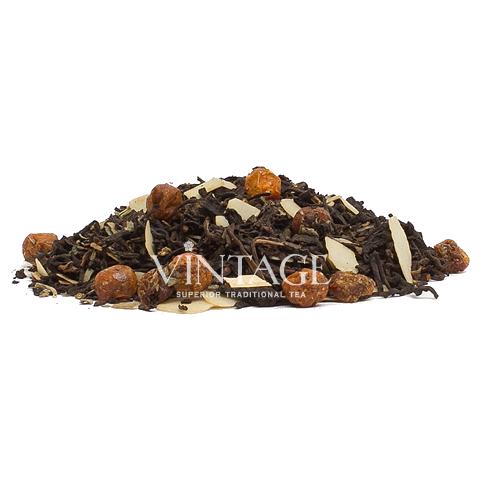 Пу Эр Ореховый (чай черный байховый ароматизированный листовой)Весовой чай<br>Пу Эр Ореховый (чай черный байховый ароматизированный листовой)<br><br><br><br><br><br><br><br><br><br>Время заваривания<br>Температура заваривания<br>Количество заварки<br><br><br><br>Рекомендуемое время заваривания 4-5мин.<br><br><br>Рекомендуемая температура заваривания 90-95 °С<br><br><br>Рекомендуемое количество заварки 3-4гр из расчета на 200-300мл.<br><br><br><br><br><br>Состав:китайский Королевский пуэр и пуэр Гун Тин, миндаль, ягоды облепихи и можжевельника.<br>Описание:вплодах облепихи содержится серотонин, который играет важную роль в деятельности нервной системы. Вкус элитного пуэра прекрасно сочетается со слегка заметным вкусом миндаля.<br>