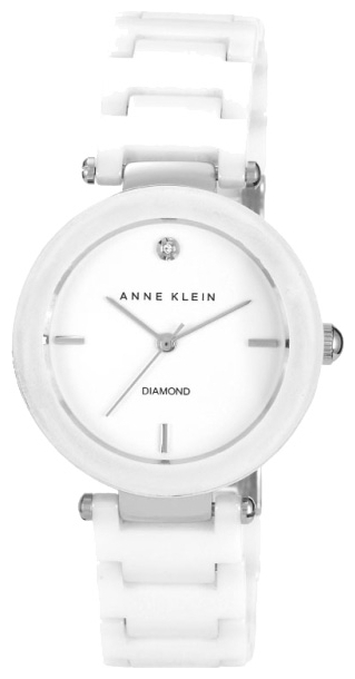 Anne Klein 1019WTWT - женские наручные часы из коллекции DiamondAnne Klein<br><br><br>Бренд: Anne Klein<br>Модель: Anne Klein 1019 WTWT<br>Артикул: 1019WTWT<br>Вариант артикула: None<br>Коллекция: Diamond<br>Подколлекция: None<br>Страна: США<br>Пол: женские<br>Тип механизма: кварцевые<br>Механизм: None<br>Количество камней: None<br>Автоподзавод: None<br>Источник энергии: от батарейки<br>Срок службы элемента питания: None<br>Дисплей: стрелки<br>Цифры: отсутствуют<br>Водозащита: WR 30<br>Противоударные: None<br>Материал корпуса: латунь<br>Материал браслета: керамика<br>Материал безеля: None<br>Стекло: минеральное<br>Антибликовое покрытие: None<br>Цвет корпуса: None<br>Цвет браслета: None<br>Цвет циферблата: None<br>Цвет безеля: None<br>Размеры: 33x8 мм<br>Диаметр: None<br>Диаметр корпуса: None<br>Толщина: None<br>Ширина ремешка: None<br>Вес: None<br>Спорт-функции: None<br>Подсветка: None<br>Вставка: бриллиант<br>Отображение даты: None<br>Хронограф: None<br>Таймер: None<br>Термометр: None<br>Хронометр: None<br>GPS: None<br>Радиосинхронизация: None<br>Барометр: None<br>Скелетон: None<br>Дополнительная информация: None<br>Дополнительные функции: None