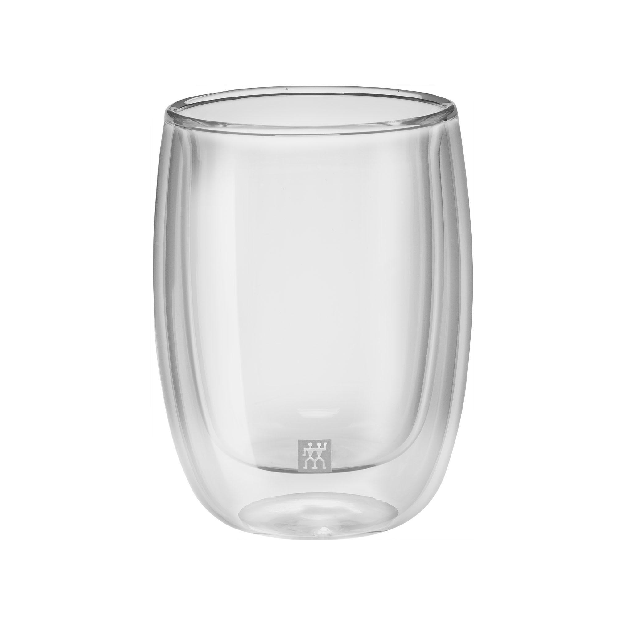 Набор из 2 стаканов для кофе 200 мл Zwilling 39500-076Кружки и чашки<br>Набор из 2 стаканов для кофе 200 мл Zwilling 39500-076<br><br>Назначение: для кофе. Сохраняют горячие напитки горячими и холодные - холодными долгое время. Легкие, прочные и устойчивые.<br>Уход: Мыть рекомендуется вручную теплой водой с применением жидкого моющего средства, вытирать насухо чистыми безворсовыми салфетками. Пригодны для использования в микроволновой печи.<br>