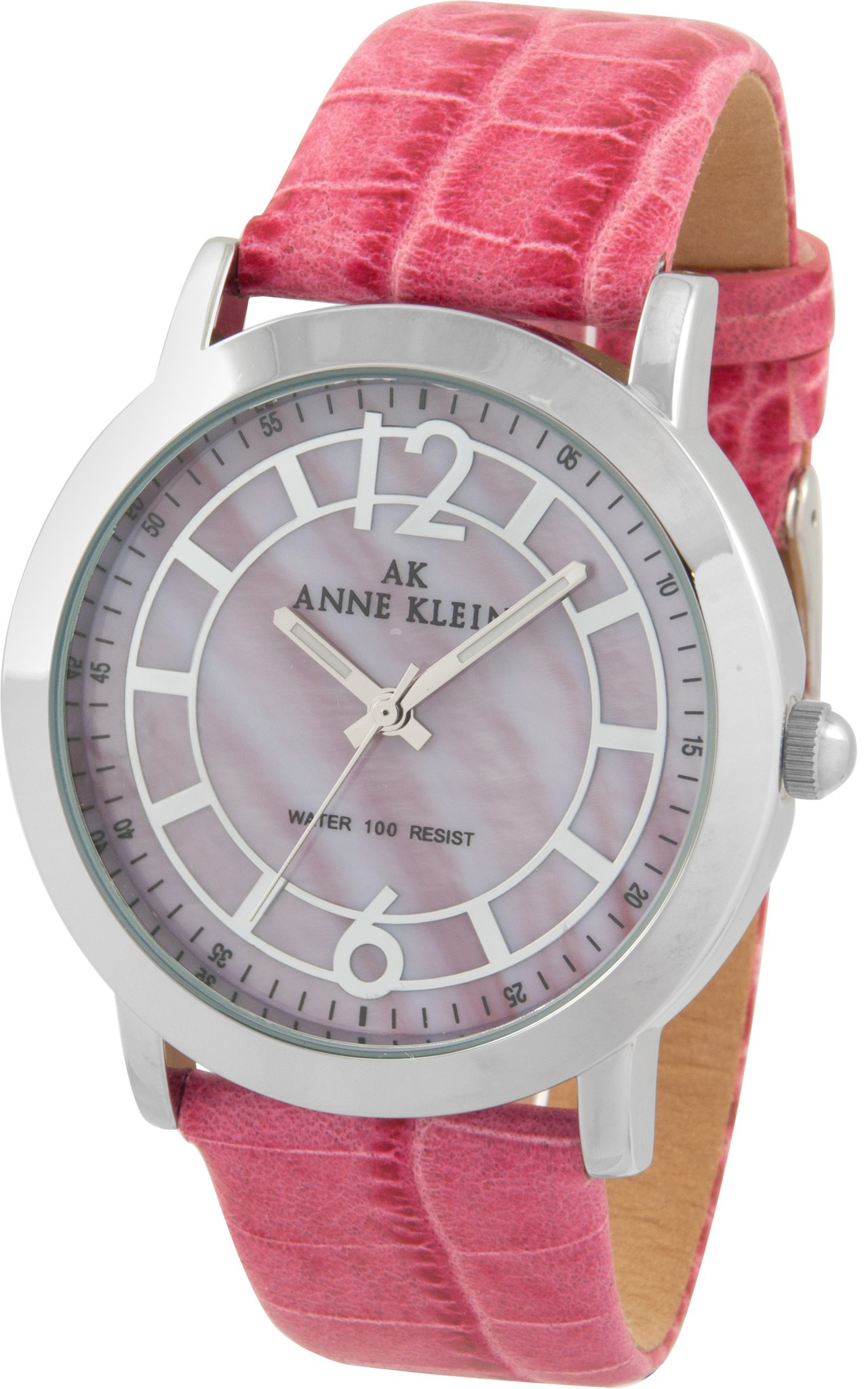 Anne Klein 9535PMPK - женские наручные часы из коллекции RainbowAnne Klein<br><br><br>Бренд: Anne Klein<br>Модель: Anne Klein 9535 PMPK<br>Артикул: 9535PMPK<br>Вариант артикула: None<br>Коллекция: Rainbow<br>Подколлекция: None<br>Страна: США<br>Пол: женские<br>Тип механизма: кварцевые<br>Механизм: None<br>Количество камней: None<br>Автоподзавод: None<br>Источник энергии: от батарейки<br>Срок службы элемента питания: None<br>Дисплей: стрелки<br>Цифры: арабские<br>Водозащита: WR 30<br>Противоударные: None<br>Материал корпуса: нерж. сталь<br>Материал браслета: кожа<br>Материал безеля: None<br>Стекло: минеральное<br>Антибликовое покрытие: None<br>Цвет корпуса: None<br>Цвет браслета: None<br>Цвет циферблата: None<br>Цвет безеля: None<br>Размеры: None<br>Диаметр: None<br>Диаметр корпуса: None<br>Толщина: None<br>Ширина ремешка: None<br>Вес: None<br>Спорт-функции: None<br>Подсветка: стрелок<br>Вставка: None<br>Отображение даты: None<br>Хронограф: None<br>Таймер: None<br>Термометр: None<br>Хронометр: None<br>GPS: None<br>Радиосинхронизация: None<br>Барометр: None<br>Скелетон: None<br>Дополнительная информация: None<br>Дополнительные функции: None