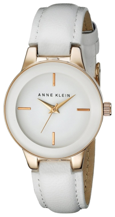 Anne Klein 2032RGWT - женские наручные часы из коллекции DailyAnne Klein<br><br><br>Бренд: Anne Klein<br>Модель: Anne Klein 2032 RGWT<br>Артикул: 2032RGWT<br>Вариант артикула: None<br>Коллекция: Daily<br>Подколлекция: None<br>Страна: США<br>Пол: женские<br>Тип механизма: кварцевые<br>Механизм: None<br>Количество камней: None<br>Автоподзавод: None<br>Источник энергии: от батарейки<br>Срок службы элемента питания: None<br>Дисплей: стрелки<br>Цифры: отсутствуют<br>Водозащита: WR 30<br>Противоударные: None<br>Материал корпуса: не указан, полное покрытие корпуса<br>Материал браслета: кожа<br>Материал безеля: None<br>Стекло: минеральное<br>Антибликовое покрытие: None<br>Цвет корпуса: None<br>Цвет браслета: None<br>Цвет циферблата: None<br>Цвет безеля: None<br>Размеры: 30 мм<br>Диаметр: None<br>Диаметр корпуса: None<br>Толщина: None<br>Ширина ремешка: None<br>Вес: None<br>Спорт-функции: None<br>Подсветка: None<br>Вставка: None<br>Отображение даты: None<br>Хронограф: None<br>Таймер: None<br>Термометр: None<br>Хронометр: None<br>GPS: None<br>Радиосинхронизация: None<br>Барометр: None<br>Скелетон: None<br>Дополнительная информация: None<br>Дополнительные функции: None