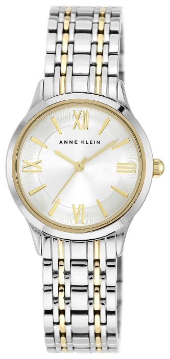Anne Klein 1805SVTT - женские наручные часы из коллекции DailyAnne Klein<br><br><br>Бренд: Anne Klein<br>Модель: Anne Klein 1805 SVTT<br>Артикул: 1805SVTT<br>Вариант артикула: None<br>Коллекция: Daily<br>Подколлекция: None<br>Страна: США<br>Пол: женские<br>Тип механизма: кварцевые<br>Механизм: None<br>Количество камней: None<br>Автоподзавод: None<br>Источник энергии: от батарейки<br>Срок службы элемента питания: None<br>Дисплей: стрелки<br>Цифры: римские<br>Водозащита: WR 30<br>Противоударные: None<br>Материал корпуса: не указан, частичное покрытие корпуса<br>Материал браслета: не указан, частичное дополнительное покрытие<br>Материал безеля: None<br>Стекло: минеральное<br>Антибликовое покрытие: None<br>Цвет корпуса: None<br>Цвет браслета: None<br>Цвет циферблата: None<br>Цвет безеля: None<br>Размеры: None<br>Диаметр: None<br>Диаметр корпуса: None<br>Толщина: None<br>Ширина ремешка: None<br>Вес: None<br>Спорт-функции: None<br>Подсветка: None<br>Вставка: None<br>Отображение даты: None<br>Хронограф: None<br>Таймер: None<br>Термометр: None<br>Хронометр: None<br>GPS: None<br>Радиосинхронизация: None<br>Барометр: None<br>Скелетон: None<br>Дополнительная информация: None<br>Дополнительные функции: None