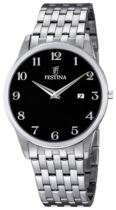 Festina F6833.4 - мужские наручные часы из коллекции ClassicFestina<br><br><br>Бренд: Festina<br>Модель: Festina F6833/4<br>Артикул: F6833.4<br>Вариант артикула: None<br>Коллекция: Classic<br>Подколлекция: None<br>Страна: Испания<br>Пол: мужские<br>Тип механизма: кварцевые<br>Механизм: M9U15<br>Количество камней: None<br>Автоподзавод: None<br>Источник энергии: от батарейки<br>Срок службы элемента питания: None<br>Дисплей: стрелки<br>Цифры: арабские<br>Водозащита: WR 30<br>Противоударные: None<br>Материал корпуса: нерж. сталь<br>Материал браслета: нерж. сталь<br>Материал безеля: None<br>Стекло: минеральное<br>Антибликовое покрытие: None<br>Цвет корпуса: None<br>Цвет браслета: None<br>Цвет циферблата: None<br>Цвет безеля: None<br>Размеры: 40 мм<br>Диаметр: None<br>Диаметр корпуса: None<br>Толщина: None<br>Ширина ремешка: None<br>Вес: None<br>Спорт-функции: None<br>Подсветка: None<br>Вставка: None<br>Отображение даты: число<br>Хронограф: None<br>Таймер: None<br>Термометр: None<br>Хронометр: None<br>GPS: None<br>Радиосинхронизация: None<br>Барометр: None<br>Скелетон: None<br>Дополнительная информация: None<br>Дополнительные функции: None