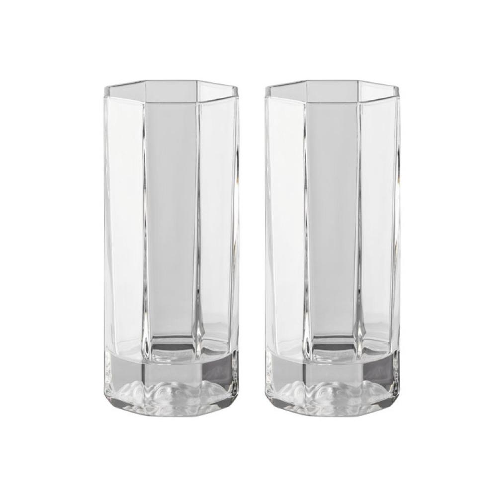 Набор 2 стакана для коктейлей Versace Medusa Lumiere (Хрусталь и стекло Rosenthal)Хрусталь и стекло Rosenthal<br>Подарочный набор 2 стакана для коктейлей Versace  Серия Medusa Lumiere  Хрусталь  Производитель: Rosenthal, Германия<br>