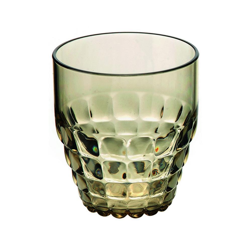 Стакан Guzzini Tiffany песочный 22570039Бокалы и стаканы<br>Стакан Guzzini Tiffany песочный 22570039<br><br>Легкий и яркий дизайн стаканов Tiffany будто намекает на освежающие лимонады, бодрящие соки и цитрусовые коктейли. Отличается конической формой и прозрачным материалом, который придает стаканам характерный блеск. Сверкающий эффект усиливается на солнечном свету, поэтому стаканы станут отличным решением для подачи напитков на свежем воздухе. Идеально подойдут для использования каждый день - добавят яркий акцент пространству кухни или гостиной.  Объем - 350 мл. Изготовлены из высококачественного органического стекла, устойчивого к износу и повреждениям. Не содержат вредных примесей и бисфенола-А. Можно мыть в посудомоечной машине.<br>