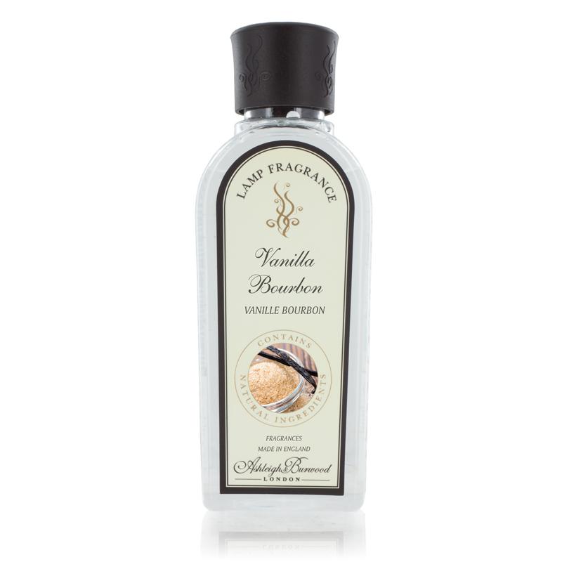 Аромат для ламп Ванильный бурбон 500 мл (Ароматы для Аромаламп)Ароматы для Аромаламп<br>Богатый пленительный аромат ванили с задумчивым запахом сладкой сливы и кремовой ноткой какао бобов. Сладость запаха сбалансирована нежными нотками кокоса и мускуса.<br>Правила обращения с продукциейAshleigh&amp;Burwood<br>