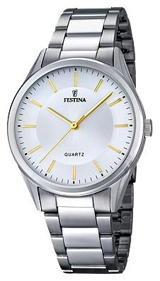 Festina F16875.4 - мужские наручные часы из коллекции ClassicFestina<br><br><br>Бренд: Festina<br>Модель: Festina F16875/4<br>Артикул: F16875.4<br>Вариант артикула: None<br>Коллекция: Classic<br>Подколлекция: None<br>Страна: Испания<br>Пол: мужские<br>Тип механизма: кварцевые<br>Механизм: M2035<br>Количество камней: None<br>Автоподзавод: None<br>Источник энергии: от батарейки<br>Срок службы элемента питания: None<br>Дисплей: стрелки<br>Цифры: отсутствуют<br>Водозащита: WR 50<br>Противоударные: None<br>Материал корпуса: нерж. сталь<br>Материал браслета: нерж. сталь<br>Материал безеля: None<br>Стекло: минеральное<br>Антибликовое покрытие: None<br>Цвет корпуса: None<br>Цвет браслета: None<br>Цвет циферблата: None<br>Цвет безеля: None<br>Размеры: 40 мм<br>Диаметр: None<br>Диаметр корпуса: None<br>Толщина: None<br>Ширина ремешка: None<br>Вес: None<br>Спорт-функции: None<br>Подсветка: None<br>Вставка: None<br>Отображение даты: None<br>Хронограф: None<br>Таймер: None<br>Термометр: None<br>Хронометр: None<br>GPS: None<br>Радиосинхронизация: None<br>Барометр: None<br>Скелетон: None<br>Дополнительная информация: None<br>Дополнительные функции: None