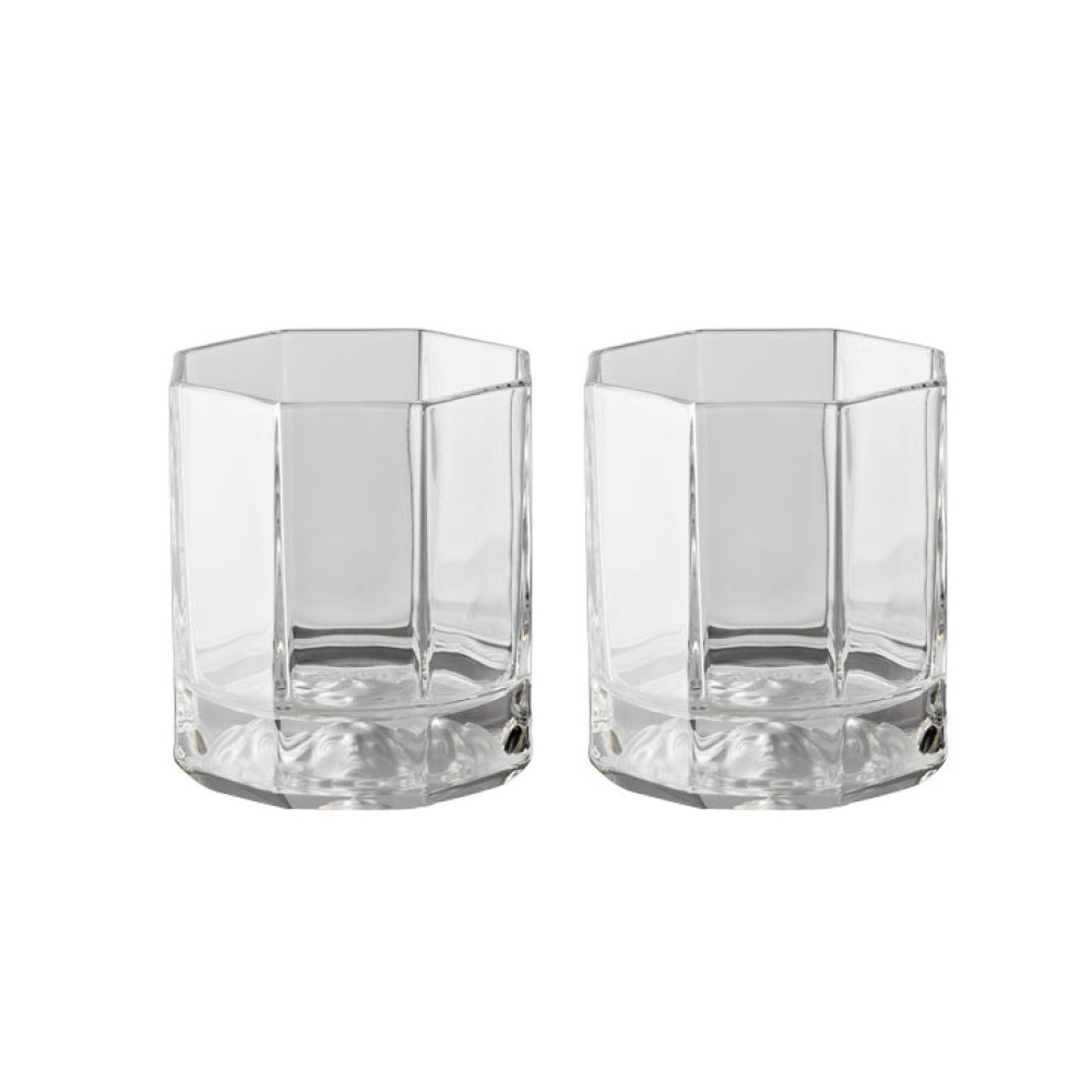 Набор 2 стакана для виски Versace Medusa Lumiere (Хрусталь и стекло Rosenthal)Хрусталь и стекло Rosenthal<br>Подарочный набор 2 стакана для виски Versace  Серия Medusa Lumiere  Хрусталь  Производитель: Rosenthal, Германия<br>