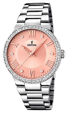 Festina F16719.3 - женские наручные часы из коллекции MademoiselleFestina<br><br><br>Бренд: Festina<br>Модель: Festina F16719/3<br>Артикул: F16719.3<br>Вариант артикула: None<br>Коллекция: Mademoiselle<br>Подколлекция: None<br>Страна: Испания<br>Пол: женские<br>Тип механизма: кварцевые<br>Механизм: M2035<br>Количество камней: None<br>Автоподзавод: None<br>Источник энергии: от батарейки<br>Срок службы элемента питания: None<br>Дисплей: стрелки<br>Цифры: римские<br>Водозащита: WR 50<br>Противоударные: None<br>Материал корпуса: нерж. сталь<br>Материал браслета: нерж. сталь<br>Материал безеля: None<br>Стекло: минеральное<br>Антибликовое покрытие: None<br>Цвет корпуса: None<br>Цвет браслета: None<br>Цвет циферблата: None<br>Цвет безеля: None<br>Размеры: 37 мм<br>Диаметр: None<br>Диаметр корпуса: None<br>Толщина: None<br>Ширина ремешка: None<br>Вес: None<br>Спорт-функции: None<br>Подсветка: None<br>Вставка: циркон<br>Отображение даты: None<br>Хронограф: None<br>Таймер: None<br>Термометр: None<br>Хронометр: None<br>GPS: None<br>Радиосинхронизация: None<br>Барометр: None<br>Скелетон: None<br>Дополнительная информация: None<br>Дополнительные функции: None
