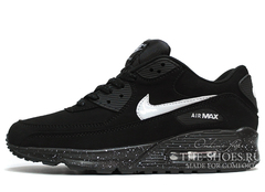 Кроссовки Женские Nike Air Max 90 Essential Black White Speck