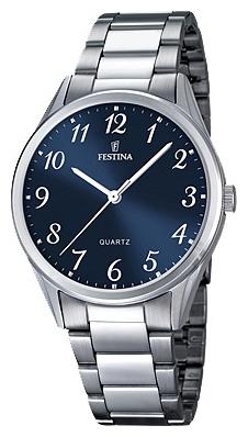 Festina F16875.2 - мужские наручные часы из коллекции ClassicFestina<br><br><br>Бренд: Festina<br>Модель: Festina F16875/2<br>Артикул: F16875.2<br>Вариант артикула: None<br>Коллекция: Classic<br>Подколлекция: None<br>Страна: Испания<br>Пол: мужские<br>Тип механизма: кварцевые<br>Механизм: M2035<br>Количество камней: None<br>Автоподзавод: None<br>Источник энергии: от батарейки<br>Срок службы элемента питания: None<br>Дисплей: стрелки<br>Цифры: арабские<br>Водозащита: WR 50<br>Противоударные: None<br>Материал корпуса: нерж. сталь<br>Материал браслета: нерж. сталь<br>Материал безеля: None<br>Стекло: минеральное<br>Антибликовое покрытие: None<br>Цвет корпуса: None<br>Цвет браслета: None<br>Цвет циферблата: None<br>Цвет безеля: None<br>Размеры: 40 мм<br>Диаметр: None<br>Диаметр корпуса: None<br>Толщина: None<br>Ширина ремешка: None<br>Вес: None<br>Спорт-функции: None<br>Подсветка: None<br>Вставка: None<br>Отображение даты: None<br>Хронограф: None<br>Таймер: None<br>Термометр: None<br>Хронометр: None<br>GPS: None<br>Радиосинхронизация: None<br>Барометр: None<br>Скелетон: None<br>Дополнительная информация: None<br>Дополнительные функции: None