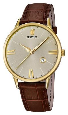 Festina F16825.2 - мужские наручные часы из коллекции ClassicFestina<br><br><br>Бренд: Festina<br>Модель: Festina F16825/2<br>Артикул: F16825.2<br>Вариант артикула: None<br>Коллекция: Classic<br>Подколлекция: None<br>Страна: Испания<br>Пол: мужские<br>Тип механизма: кварцевые<br>Механизм: MGM10<br>Количество камней: None<br>Автоподзавод: None<br>Источник энергии: от батарейки<br>Срок службы элемента питания: None<br>Дисплей: стрелки<br>Цифры: римские<br>Водозащита: WR 50<br>Противоударные: None<br>Материал корпуса: нерж. сталь, PVD покрытие (полное)<br>Материал браслета: кожа<br>Материал безеля: None<br>Стекло: минеральное<br>Антибликовое покрытие: None<br>Цвет корпуса: None<br>Цвет браслета: None<br>Цвет циферблата: None<br>Цвет безеля: None<br>Размеры: 42 мм<br>Диаметр: None<br>Диаметр корпуса: None<br>Толщина: None<br>Ширина ремешка: None<br>Вес: None<br>Спорт-функции: None<br>Подсветка: стрелок<br>Вставка: None<br>Отображение даты: число<br>Хронограф: None<br>Таймер: None<br>Термометр: None<br>Хронометр: None<br>GPS: None<br>Радиосинхронизация: None<br>Барометр: None<br>Скелетон: None<br>Дополнительная информация: None<br>Дополнительные функции: None
