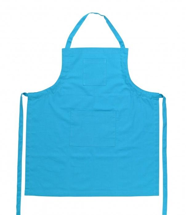 Фартук 85х75 ZONE GOURMET CONFETTI 322111Скидки на товары для кухни<br>Легкий и яркий фартук для тех, кто в душе – настоящий шеф-повар. Прячьте свои фирменные рецепты в удобном кармане и настраивайте длину лямок под свой рост, чтобы готовить с максимальным комфортом. Фартук из 100% хлопка бирюзового оттенка не тускнеет даже после многократных стирок. Длина и крой надежно защитят вашу одежду ото всех брызг и загрязнений.<br>