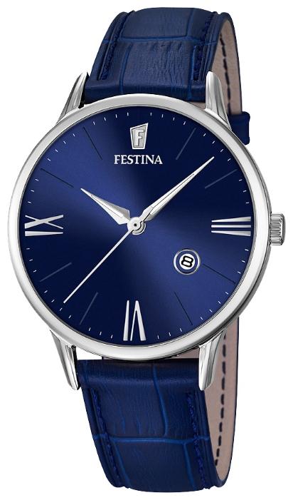 Festina F16824.3 - мужские наручные часы из коллекции ClassicFestina<br><br><br>Бренд: Festina<br>Модель: Festina F16824/3<br>Артикул: F16824.3<br>Вариант артикула: None<br>Коллекция: Classic<br>Подколлекция: None<br>Страна: Испания<br>Пол: мужские<br>Тип механизма: кварцевые<br>Механизм: MGM10<br>Количество камней: None<br>Автоподзавод: None<br>Источник энергии: от батарейки<br>Срок службы элемента питания: None<br>Дисплей: стрелки<br>Цифры: римские<br>Водозащита: WR 50<br>Противоударные: None<br>Материал корпуса: нерж. сталь<br>Материал браслета: кожа<br>Материал безеля: None<br>Стекло: минеральное<br>Антибликовое покрытие: None<br>Цвет корпуса: None<br>Цвет браслета: None<br>Цвет циферблата: None<br>Цвет безеля: None<br>Размеры: 42 мм<br>Диаметр: None<br>Диаметр корпуса: None<br>Толщина: None<br>Ширина ремешка: None<br>Вес: None<br>Спорт-функции: None<br>Подсветка: стрелок<br>Вставка: None<br>Отображение даты: число<br>Хронограф: None<br>Таймер: None<br>Термометр: None<br>Хронометр: None<br>GPS: None<br>Радиосинхронизация: None<br>Барометр: None<br>Скелетон: None<br>Дополнительная информация: None<br>Дополнительные функции: None